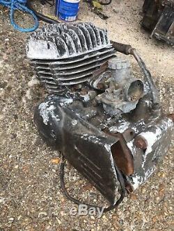 Suzuki ts125 er engine