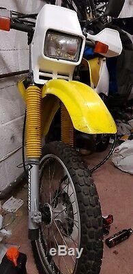 Suzuki ts125r bike