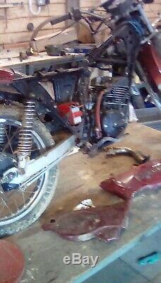 Suzuki ts185 project