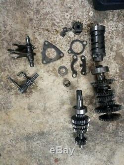 Suzuki ts50x gearbox