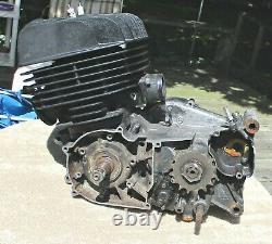 TS400 Suzuki Engine Motor 1975 Excellent Compression Vintage Enduro Core Engine