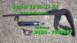Tuning Auspuff Giannelli Suzuki TS 50 X XK RG 80 Gamma TS 80 Tuningauspuff Chrom