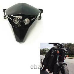 Universal Motor Skeleton Skull LED Headlight Fairing For Harley S FLSTFBS 2017