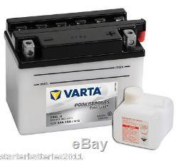 VARTA YB4L-B Motorcycle Battery SUZUKI TS 250 X (1986 1994) 250 CC