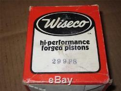 WISECO NOS SUZUKI PISTON KIT TM400 / TS400 2mm OS 299P8