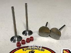 08-18 Suzuki Rmz450 Rmz 450 Titanium Soupapes D'admission Et D'échappement Kibblewhite Joints