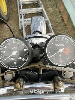 1969 Suzuki Ts250 Speedo Et Tach