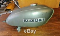 1970 Suzuki Adieu Ts90 À Moto Tout