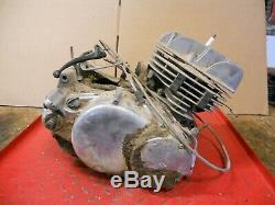 1970 Suzuki Ts250 Engine (tourne Librement, 120psi) # 2129