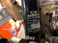 1970 Suzuki Ts250 Savage Tuyau D'échappement MX Race Gyt Bassani Dg