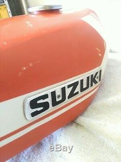 1971 Suzuki Ts 185 Du Réservoir De Carburant. Nettoyer
