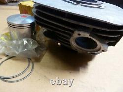 1973 1974 1975 Suzuki Ts250 Cylinder Factory Hop Up Kit Rare! Piston Rings Inc