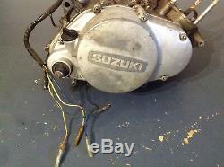 1974 74 73 Suzuki Ts185 Ts 185 Sierra Transmission Moteur Oem