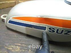 1974 Suzuki Ts100 Survivor Réservoir De Gaz
