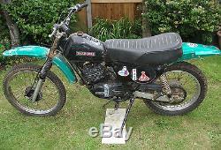 1980 Suzuki Ts 185 Projet, Pièces Détachées V5