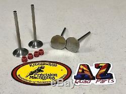 2007-17 Suzuki Rmz250 Rmz 250 Titanium Soupapes D'échappement D'admission Kibblewhite Joints