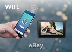 3,0 'wifi Réel 1080p Fhd Double Objectif Motos Enregistreur Vidéo Dvr Gps G-sensor