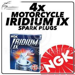 4x Ngk Iridium IX Spark Plugs Pour Suzuki 650cc Dl650a V-strom Xp (ts) 2010 # 4218