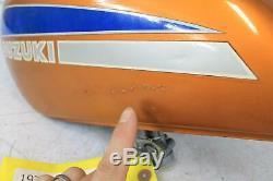 74 Suzuki Ts125 Gas Réservoir De Carburant Essence Réservoir Cellule