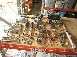 75 Suzuki Ts185 Carters Chocs Cylindre D'embrayage Flywheel Etc Stator Pièces Lot