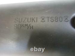 A. Suzuki Ts 80 Sc Auspuff Endtopf Schalldämpfer Original Muffler Échappement