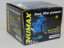 Batterie Numax Ytx4lbs Suzuki 50cc Tune50, Ts 50, X, Xa, Xk, Uz50x, X5, Zilion