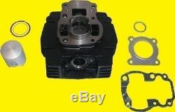 Big Bore Barrel Et 70cc Joints Kit Piston 47mm Pour Suzuki Ts 50 X1997 (50 Cc)