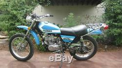 Daytona Bleu Peinture MIX Personnalisé Pour Suzuki Motorcycles- Quart Ts250 Savage
