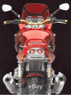 Gimbel Heck Innenverkleidung Suzuki Gsx 1400 // 01-07 Fz-typ Wvbn