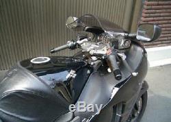 Helibars Remplacement Guidon Riser 1999-2007 Suzuki Hayabusa / Ts3702
