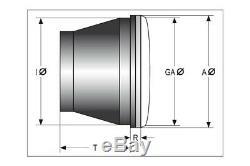 High Side Principal Insert Projecteur Led Type 7 Avec Anneau Chrome Hublot 5 3/4 Pouce