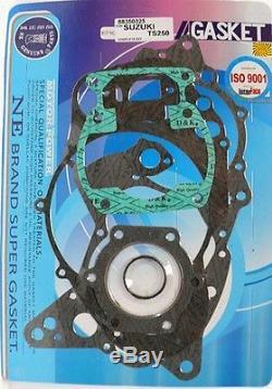 Ms Motorcycle Engine Jeu Complet De Joints D'étanchéité Suzuki Ts 250 Er 77-81