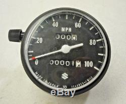 Nos Nouveaux Suzuki 71-76 Ts185 71-77 Tc Ts125 Compteur De Vitesse Compteur Oem 34100-28611