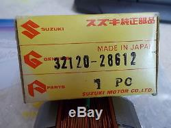 Nos Oem Suzuki Éclairage Bobine 1975-1977 Rv125 Ts125 Tc125 Dual Sport 32120-28612