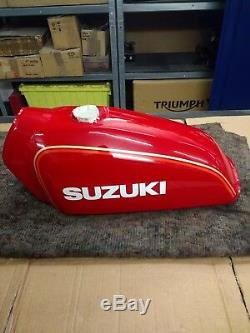Nos Rare Suzuki Ts125 Ts185 Réservoir De Carburant