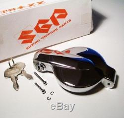 Nos Suzuki Chrome Bouchon À Essence Et Clés Oem Gt750 Gt550 Gt380 Gt250 T500 Ts400 Ts250