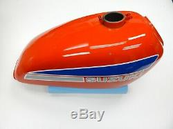Nos Suzuki Réservoir Fuel Gas Essence Original Peinture New Ts 250 Ts250 Enduro