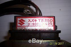 Nos Vintage 71/76 Suzuki Ts 250 / Ts185 31900-30020 Boîte D'allumage D'allumeur D'unité De CDI