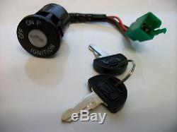 Nouvelles Clés De Barillet De Commutateur D'allumage Suzuki Ts125 Dr350 Ts 125 Dr 350 37110-03d00