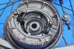 Oem Suzuki 71-78 Tm250 Tm400 Ts100 Ts125 Rm125 Rm250 Rm370 Moyeu De Roue Avant