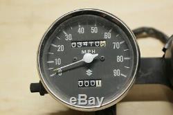 Oem Suzuki Ts250 Indicateur De Vitesse Et Tachymètre Cluster Ts125 Ts185 Sp370