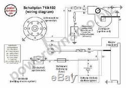 Powerdynamo Mz-b Vape Système D'allumage Stator Suzuki Rv125 Rv 125 Ts125 Ts 125 DC