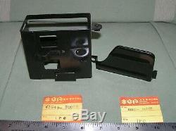 Support De Batterie Suzuki Nos & Plaque / Boîte Et Couvercle Ts250 # 41540-30000 & # 41561-30000