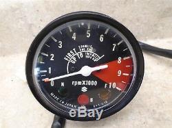 Suzuki 185 Ts Seirra Ts185 Nice Tachymètre Tachymètre 1972 Gp Sb118