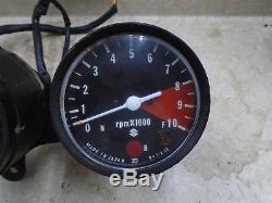 Suzuki 185 Ts Sierra Ts185 Tachymètre D'occasion Jauges 1972 Sb103