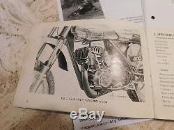 Suzuki 1972 Tm Ts 400 J Manuels D'utilisation Et De Service Vintage Vintage Motocross Enduro