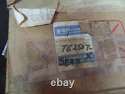 Suzuki 80-81 Ts250 250 Savage Take-off Oem Seat 45100-30949-48f Regard