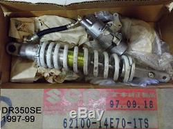 Suzuki Dr350 Amortisseur Arrière 1997-1999 Nos Dr350se Coussin 62100-14e70-1ts
