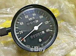 Suzuki Gt125 Rv125 Tc125 Ts125 Ts185 Compteur De Vitesse Assy 140km / H Nd Nos Véritable