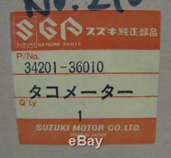 Suzuki Gt125 / Rv125 / Ts125 / Ts185 / Tc125, Nouveau Tachymètre Oem, 34201-36010